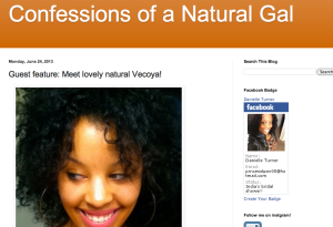 confessions of a natural gal