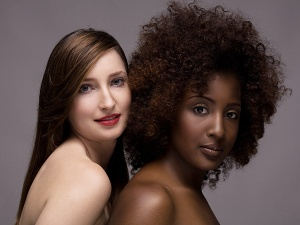 Hair & Make Up - Adrin Seven Washington Models - from left to right - Tanya Zalecki & LaWanda Amaker Photographer - Long Nguyen